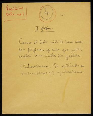 Sobre manuscrito con material para el n. 3 de la Revista de Arte (1969). Archivo de la Revista de Arte (Mayagüez). Centro de Documentación