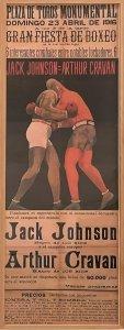 Anónimo. Gran fiesta del boxeo, 1916