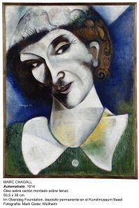Marc Chagall. Self-Portrait, 1914.